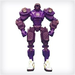 "Baltimore Ravens 10 ""Team Cleatus FOX Robot NFL Football action figure Version 2.0"