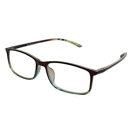 Gabriel + Simone Unisex Reading Glasses Andre Brown (Sunglasses Brown Andre)