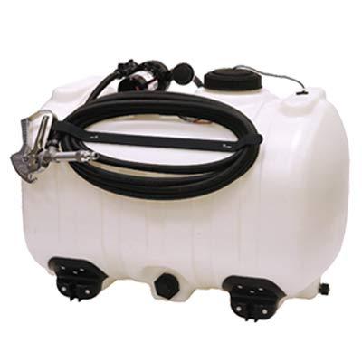 Smv Industries 60SW4SCHLB3G0N Spot/Skid Sprayer Tank, White, 60-Gallons - Quantity 1