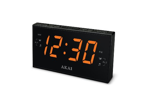 Akai CE1008 AM/FM Clock Radio