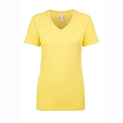 Next Level Women's Lightweight V-Neck Jersey T-Shirt - 1540