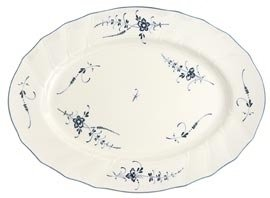 VIEUX LUXEMBOURG LG OVAL PLATTER 17''-IMPORT