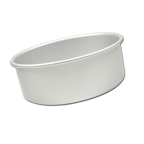 Fat Daddio's Anodized Aluminum Round Cake Pan, 9-Inch x 3-Inch