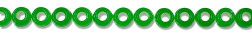 Cousin Fun Packs 250-Piece Green Pony Beads