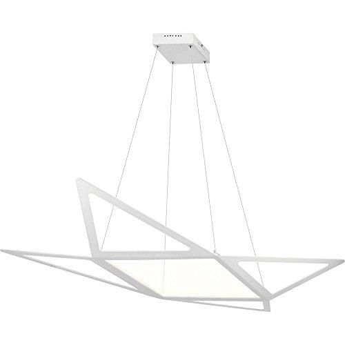 Elan 83961 Starship Pendant Lighting, Matt White (Starship Pendant)