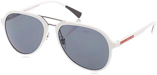 Prada Sport Sonnenbrille (PS 05RS) WHITE RUBBER