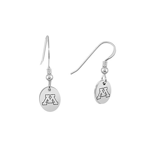 University of Minnesota Golden Gophers Oval Charm Earrings ()