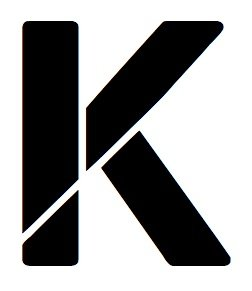 Amazon.com: 16x20 Large Letter Stencil from 4 Ply Mat Board  Letter K
