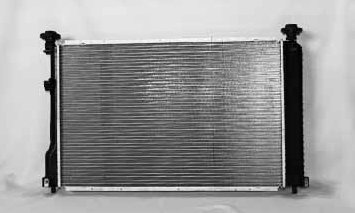 TYC 2879 Chevrolet//Pontiac 1-Row Plastic Aluminum Replacement Radiator