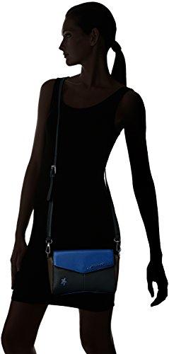 Sac Électrique Angie Mugler Thierry bandoulière Marron Bleu 8m22 3 Taupe Noir BARznzqWx