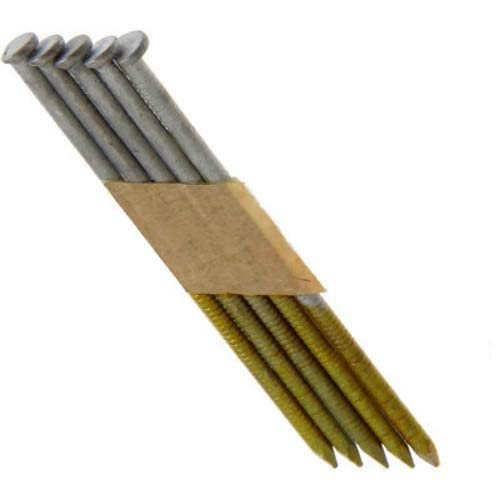 Grip-Rite GRSP8DRHG Clipped Head 2-3/8-inch by .113-inch by 30 Degree Paper Collated Ring Shank Hot-Dip Galvanized Framing Nail, 2,500 per Box
