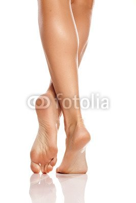 White women with pretty feet