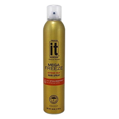 - It Mega Freeze Hairspray 10oz Aerosol (6 Pack)