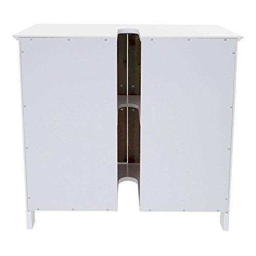 Mendler Waschbeckenunterschrank Hwc A85 Badschrank 60x60x30cm Bamboosphere