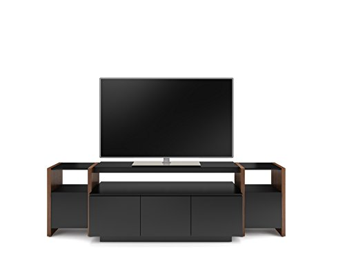 BDI Semblance 5473-TD Three Section Media System (Natural Stained Cherry/Black)