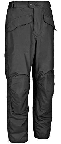 FirstGear HT Overpants Shell Men's Textile Sports Bike Racing Motorcycle Pants - Black / Short / Size 36