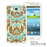 OnlineBestDigital - National Pattern Hardback Case for Samsung Galaxy S3 III I9300 - Blue Floral Patttern by lolosakes