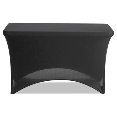Iceberg 16511 Stretch-Fabric Table Cover, Polyester/Spandex,
