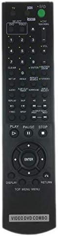 Black Sony SLV-D370P TeKswamp Remote Control