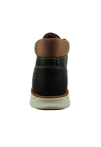 Timberland Hombres Encaje CA178V Bradstreet Chukka oscuro negro marrón, Timberland Herren-Schuhe EU/US:46
