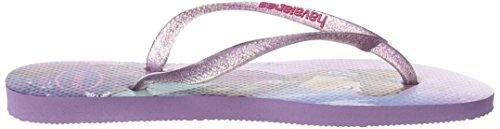 Princess Bambino lilac ragazza Stampe Infradito Slim 3199 Viola Havaianas BEwqXfFxw