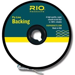 Rio Fly Fishing Backing Dacron 30Lb 300 yd. Fly Tying Equipment, Chartreuse