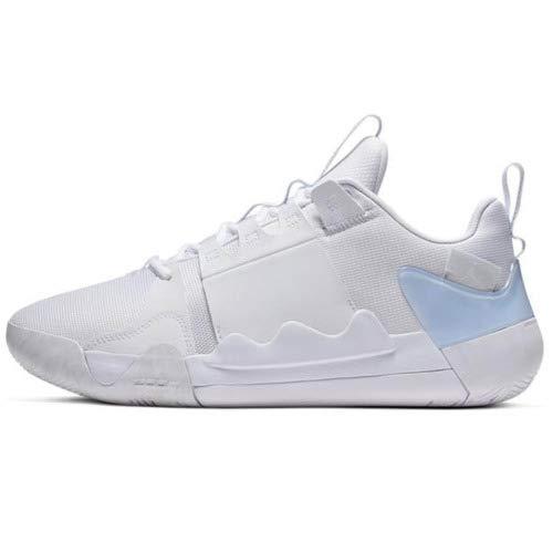 Nike(ナイキ) JORDAN/ジョーダン ズーム ゼロ グラビティ PF (ホワイト/ピュアプラチナ) B07RBVDLFK  US8.5(26.5cm)