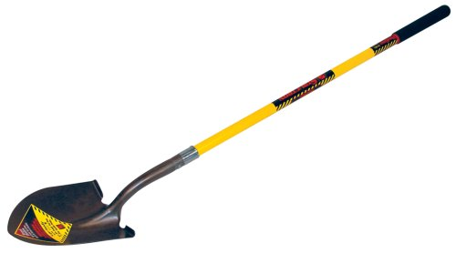 Seymour Structron Round Point Shovel S600 - Long Shovel