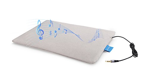 Smart pillow Mat Ultra-thin Pillow Speaker/Homemade Sleep Aid Music/Sleep Monitoring Tracker And Intelligent Alarm Clock/Bed linings Pillow Headrest Audio Players/Free APP