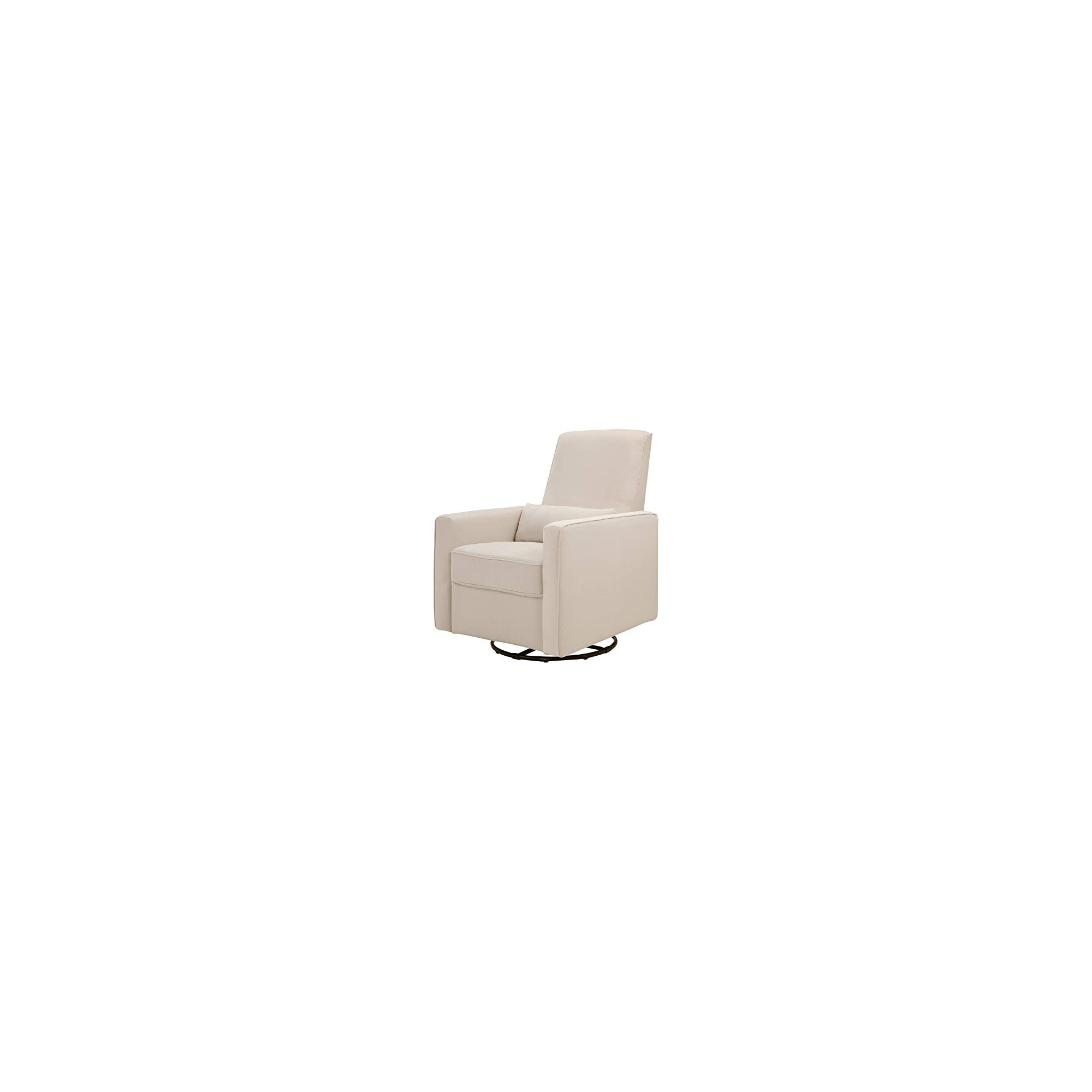 DaVinci Piper Upholstered Recliner and Swivel Glider in Cream, Greenguard Gold Certified