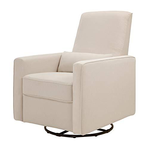 DaVinci Piper All-Purpose Upholstered Recliner and Swivel Glider, Cream ()