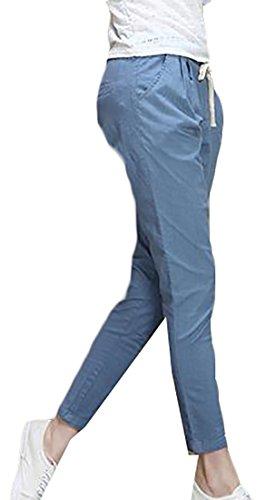 Linen Ankle Pants - 9