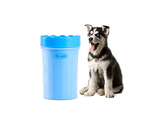 (Toooppet Dog Paw Cleaner Dog Plunger Feet Washer Muddy Paw Cleaner Cup for Dogs Puppy)