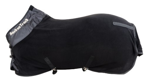 Back on Track Therapeutic Fleece Supreme Rug for Horses, 75-Inch, Black by Back on Track