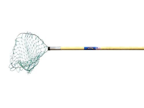 Ranger Wood Handle Crab Net (4-Feet Handle, 15 x 13-Inch Hoop, 15-Inch Net Depth)