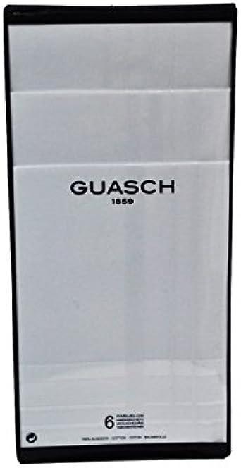 Guasch - Pack 6 Pañuelos Hombre Blancos 100% Algodón ...