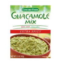 Concord Foods Extra Spicy Guacamole Mix (Case of 18)