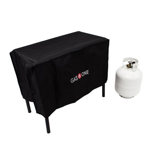 GAS ONE Two Burner Patio Cover Weather & Dust Resistance Cover for Majority of Double Burners by GasOne