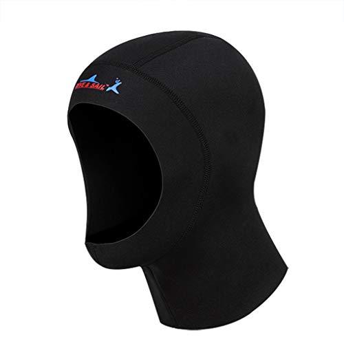 Diver Hat (MioCloth Diving Hood Cap Neoprene Scuba Snorkeling Wetsuit Hood Surf Divers Hat for Men Women)