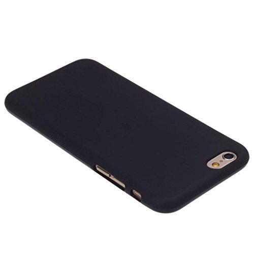 OVERMAL 2017 Cheap Black Rubber Soft TPU Case Gel Cover For iPhone 6 / 6S 4.7inch