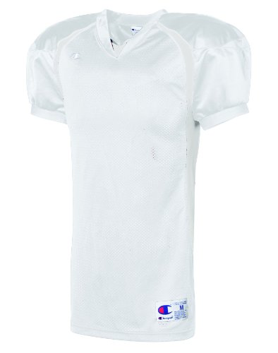 Challenger Colorblock Football Game Jersey Bianco