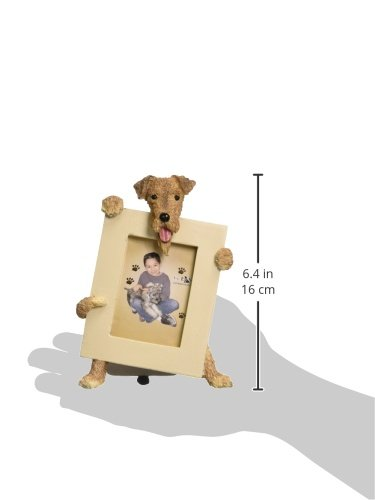 Airedale Terrier Dog 2 1/2 x3 1/2 Photo Frame by E&S 2
