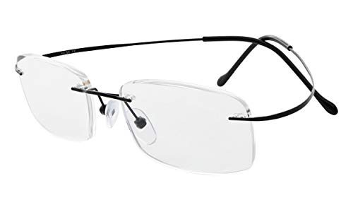 Eyekepper Titanium Rimless Eyeglasses