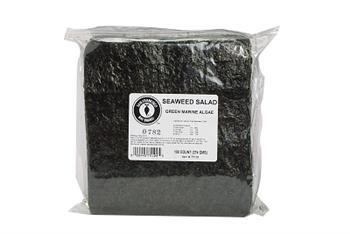 SAN FRANCISCO BAY Seaweed Green Salad Fish Food, 100 Count (Food Seaweed Salad)