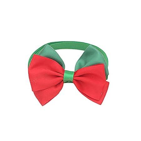 Hihey Collar de Corbata de Lazo para Mascotas Collar de Gato de ...