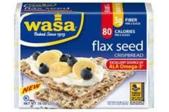 Wasa Crispbread - Flax Seed Crispbread (12-7.6 OZ) - Part of a Balanced Diet and Healthy Lifestyle