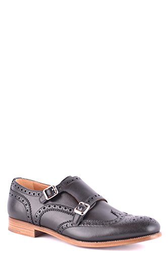 Pelle Nero Strap CHURCH'S Monk Donna MCBI069123O T1TfSU