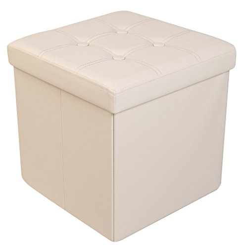 Faux Leather Cube - 6