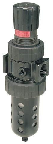 90 scfm Metal Bowl with Sight Gauge Relieving Type 40 micron Parker 07E44A15AC1  One Piece Filter//Regulator Twist Drain 3//4 BSPP without Gauge 3//4 BSPP Parker Hannifin 5-250 psig Pressure Range