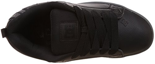 M Black taglia DC Shoes Sneaker Graffik Court S 0fwwUxIZq